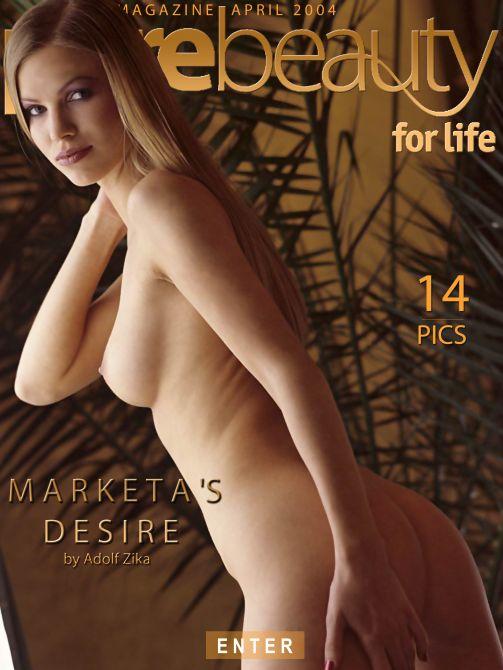 Marketa's Desire gallery from PUREBEAUTY by Adolf Zika