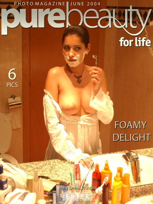 Stana in Foamy Delight gallery from PUREBEAUTY by Denis Prince
