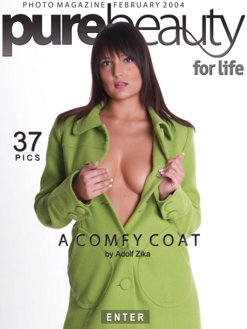 Bara in A Comfy Coat gallery from PUREBEAUTY by Adolf Zika