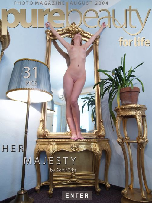 Dagmar in Her Majesty gallery from PUREBEAUTY by Adolf Zika