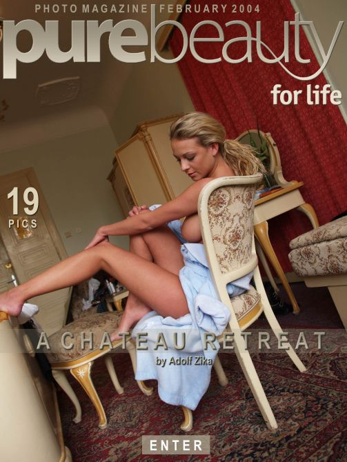 Katerina V in A Chateau Retreat gallery from PUREBEAUTY by Adolf Zika