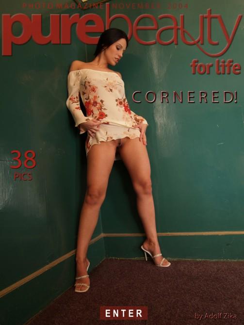 Katarina in Cornered! gallery from PUREBEAUTY by Adolf Zika