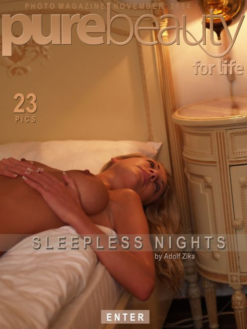 Katerina V in Sleepless Nights gallery from PUREBEAUTY by Adolf Zika