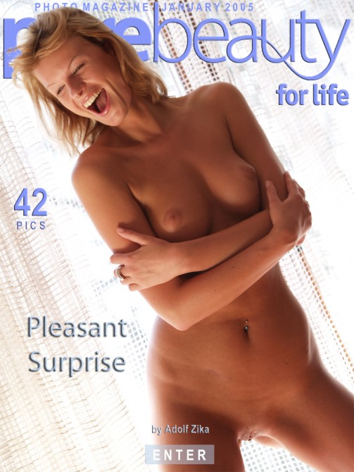 Angelika in Pleasant Surprise gallery from PUREBEAUTY by Adolf Zika