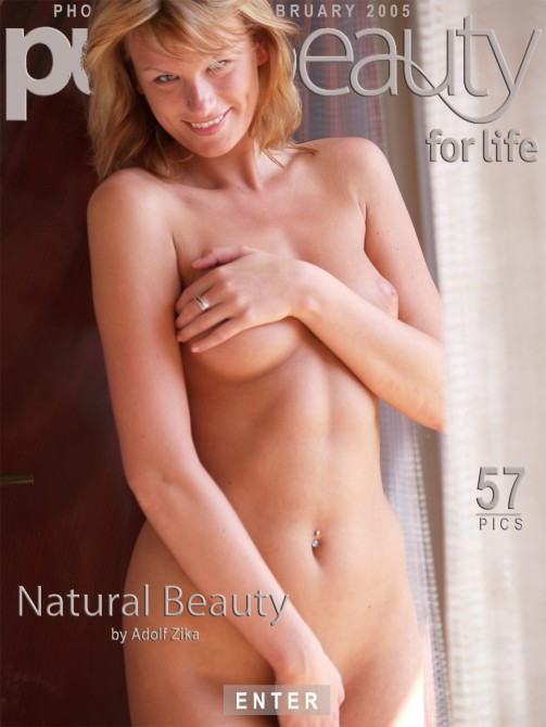 Angelika in Natural Beauty gallery from PUREBEAUTY by Adolf Zika