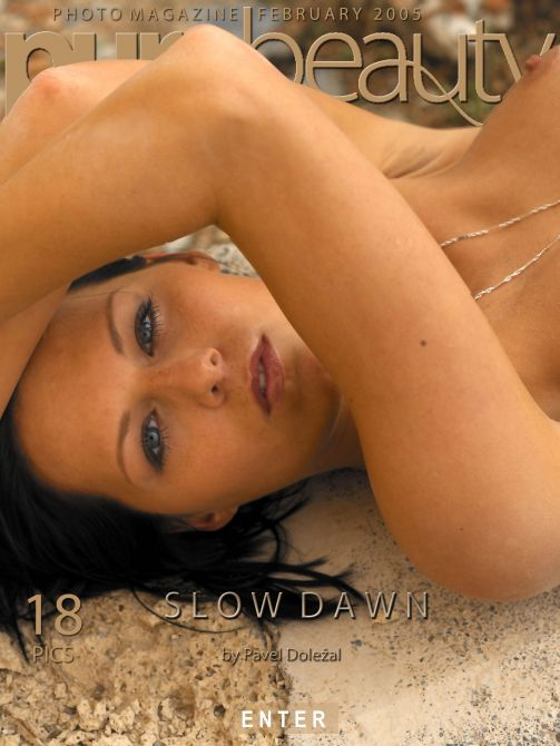 Ilona in Slow Dawn gallery from PUREBEAUTY by Pavel Dolezal