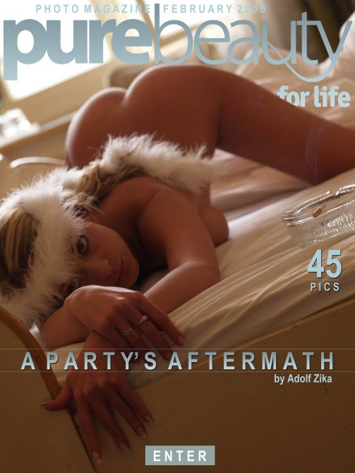 Katerina V in A Party's Aftermath gallery from PUREBEAUTY by Adolf Zika