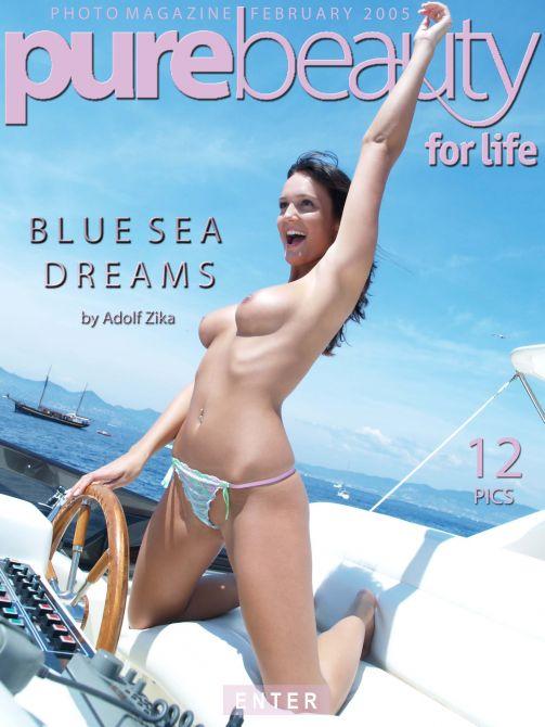Bara in Blue Sea Dreams gallery from PUREBEAUTY by Adolf Zika
