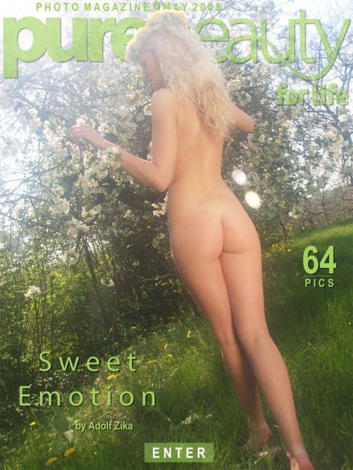 Katerina H in Sweet Emotion gallery from PUREBEAUTY by Adolf Zika