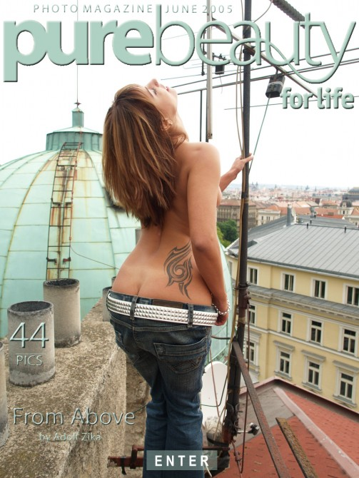 Anetta in From Above gallery from PUREBEAUTY by Adolf Zika