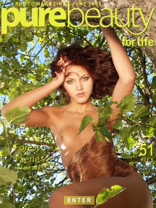 Jitka Branich in Forest Faerie gallery from PUREBEAUTY by Adolf Zika