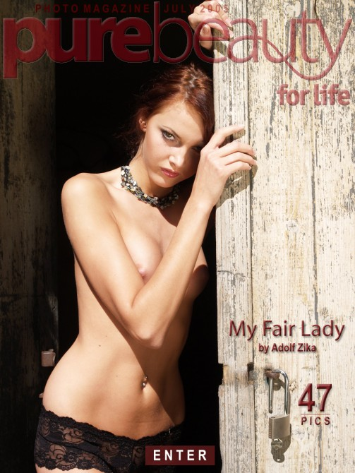 Jitka Branich in My Fair Lady gallery from PUREBEAUTY by Adolf Zika