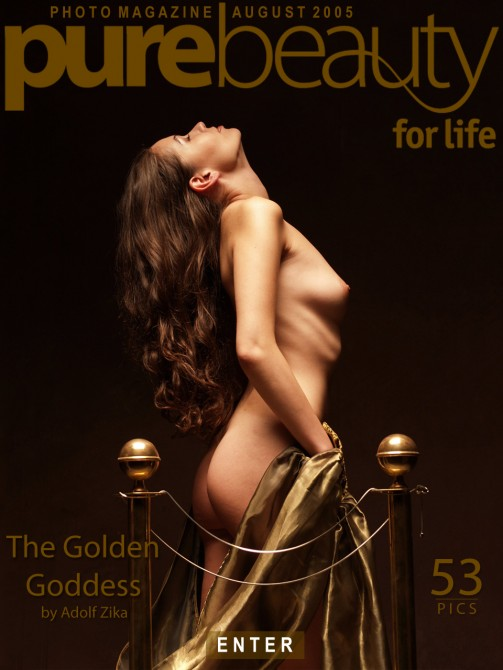 Erika Nasticka in The Golden Goddess gallery from PUREBEAUTY by Adolf Zika