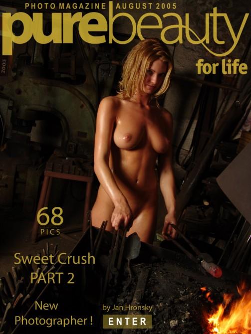 Michaela K in Sweet Crush gallery from PUREBEAUTY by Jan Hronsky