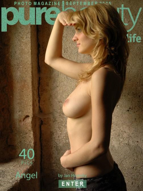 Michaela K in Angel gallery from PUREBEAUTY by Jan Hronsky