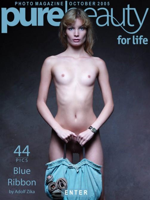 Lenka B in Blue Ribbon gallery from PUREBEAUTY by Adolf Zika