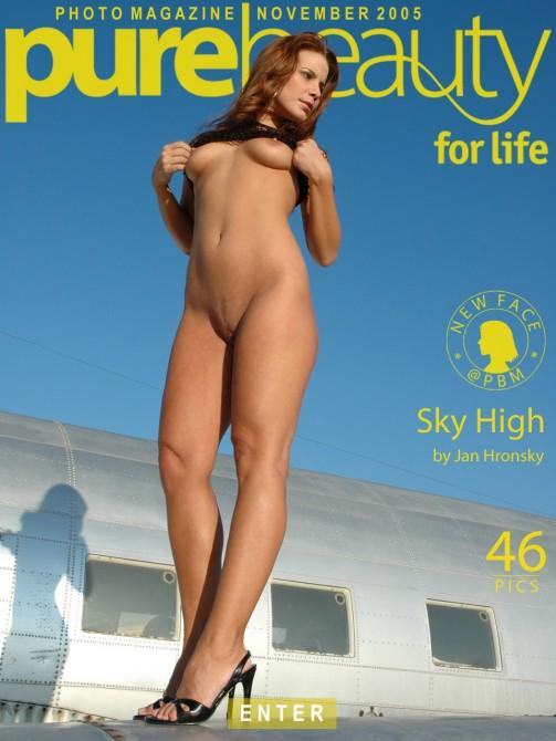 Marketa K in Sky High gallery from PUREBEAUTY by Jan Hronsky