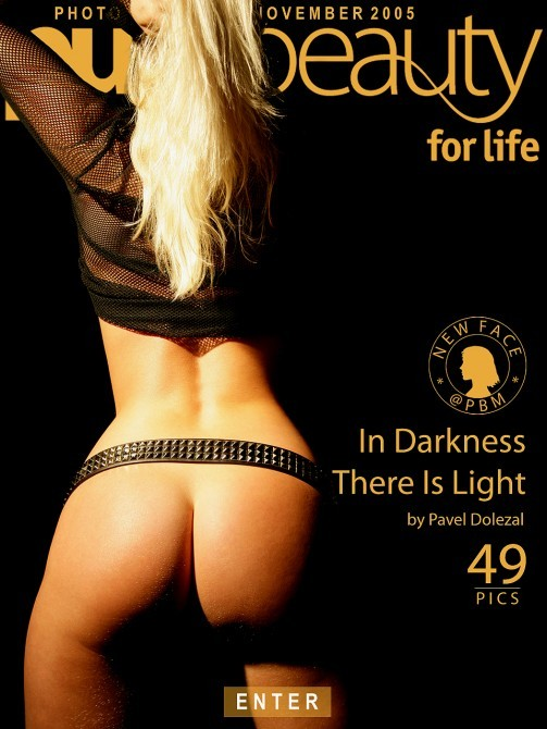 Monika W in In Darkness There Is Light gallery from PUREBEAUTY by Pavel Dolezal