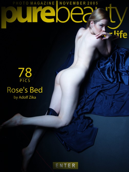 Lilian Rose in Rose`s Bed gallery from PUREBEAUTY by Adolf Zika
