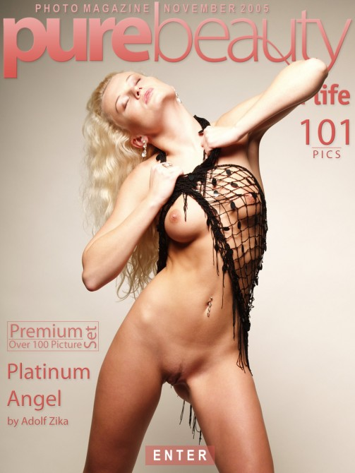 Katerina H in Platinum Angel gallery from PUREBEAUTY by Adolf Zika