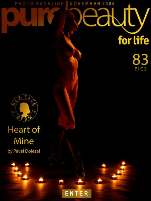 Daniela in Heart Of Mine gallery from PUREBEAUTY by Pavel Dolezal