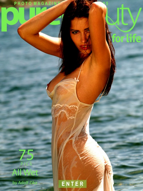 Stana in All Wet gallery from PUREBEAUTY by Adolf Zika