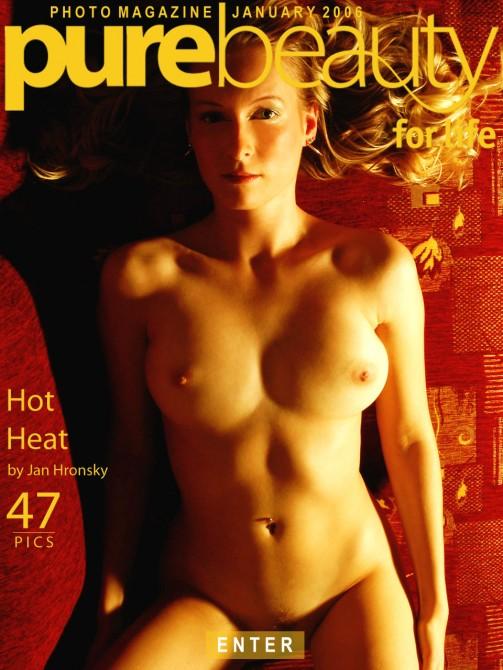 Jana in Hot Heat gallery from PUREBEAUTY by Jan Hronsky