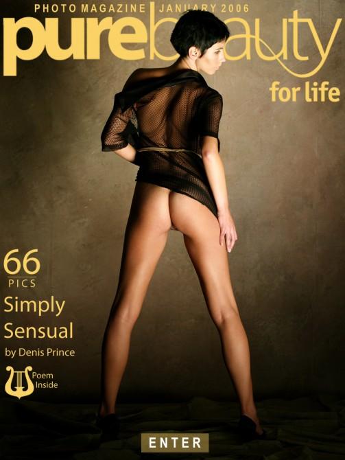 Jana Simek in Simply Sensual gallery from PUREBEAUTY by Denis Prince