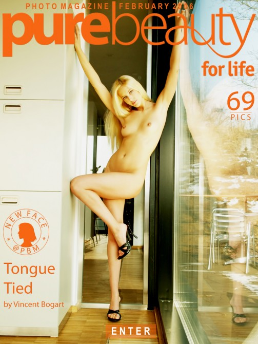 Helena O in Tongue Tied gallery from PUREBEAUTY by Vincent Bogart