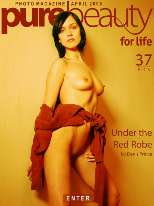 Lucyje L in Under The Red Robe gallery from PUREBEAUTY by Denis Prince