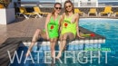 Scarlot Rose & Tania P in Waterfight gallery from REALBIKINIGIRLS