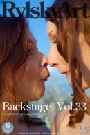 Backstage. Vol.33