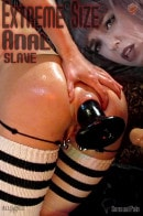 Extreme Size Anal Slave
