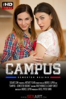 Candy Sweet & Roxy Mendez in Campus Episode I - Semester Begins video from SEXART VIDEO by Andrej Lupin