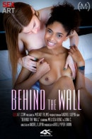 Luna C & Melissa Benz in Behind The Wall video from SEXART VIDEO by Andrej Lupin