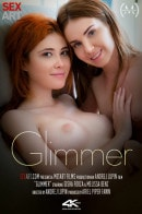 Gisha Forza & Melissa Benz in Glimmer video from SEXART VIDEO by Andrej Lupin