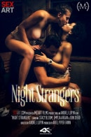 Stacy Bloom, Emylia Argan, in Night Strangers video from SEXART VIDEO by Andrej Lupin
