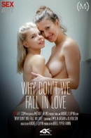 Olivia Sin, Emylia Argan in Why Don't We Fall In Love video from SEXART VIDEO by Andrej Lupin