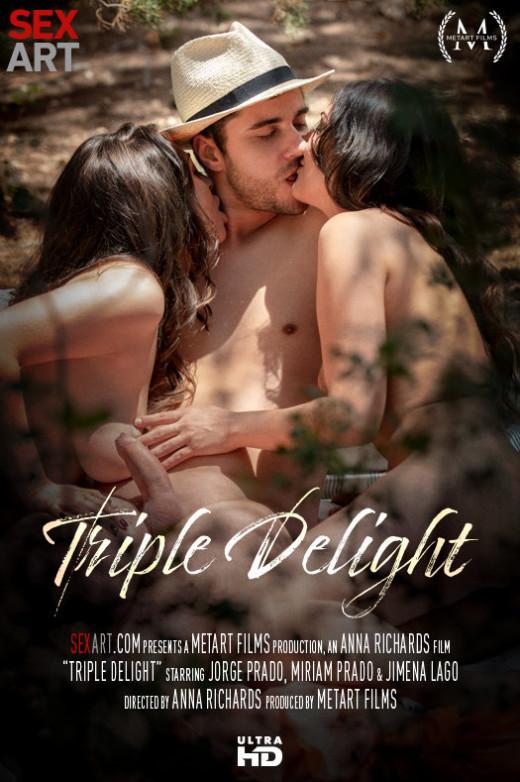 Jimena Lago, Miriam Prado in Triple Delight video from SEXART VIDEO by Andrej Lupin