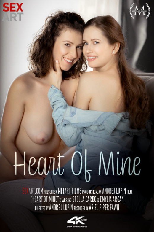 Emylia Argan, Stella Cardo in Heart Of Mine video from SEXART VIDEO by Andrej Lupin