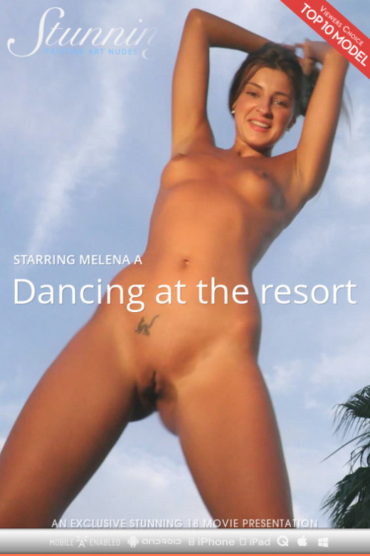 Melena A in Dancing At The Resort video from STUNNING18 by Thierry Murrell