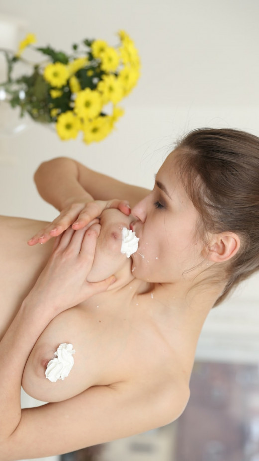 Mila Azul Has Dessert Waiting For You In The Kitchen video from TEENDREAMS
