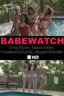 Emily Bloom & Kawaiii Kitten & HopelessSoFrantic & Abigale in Babewatch video from THEEMILYBLOOM
