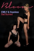 Emily Bloom & HopelessSoFrantic in Bad Bunnies gallery from THEEMILYBLOOM