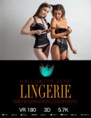 Emily Bloom & HopelessSoFrantic in Halloween Lingerie gallery from THEEMILYBLOOM