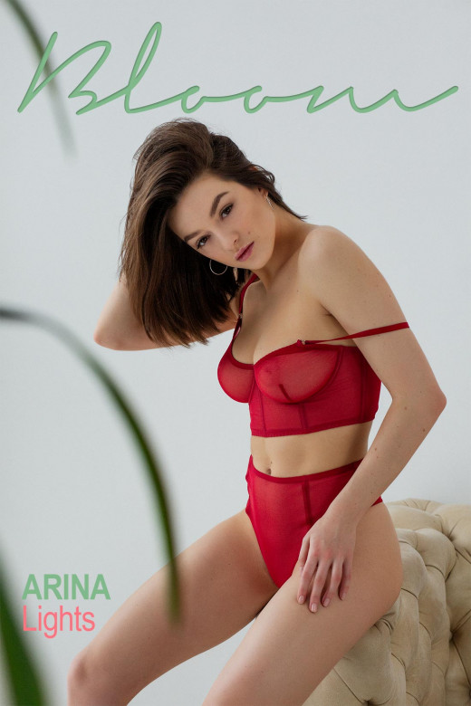 Arina in Lights gallery from THEEMILYBLOOM