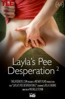Layla Cherrie in Layla's Pee Desperation 2 video from THELIFEEROTIC by Michelle Flynn