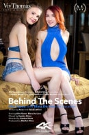 Behind The Scenes: Elin Flame And Elina De Lion On location video from VIVTHOMAS VIDEO by Sandra Shine