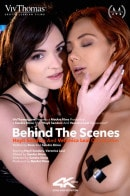 Behind The Scenes: Hayli Sanders And Veronica Leal On Location video from VIVTHOMAS VIDEO by Sandra Shine