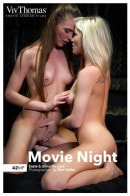 Elina De Lion & Zazie S in Movie Night gallery from VIVTHOMAS by Nik Fox